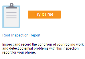 Roofing Inspection Report - Mobile Form