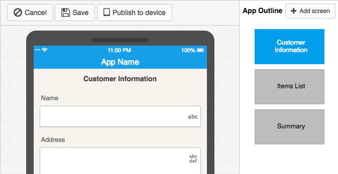 Steps to Make a Screen (an Application)