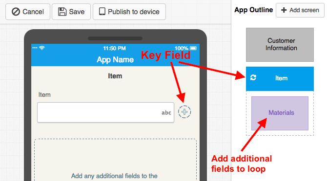 Loop App Outline