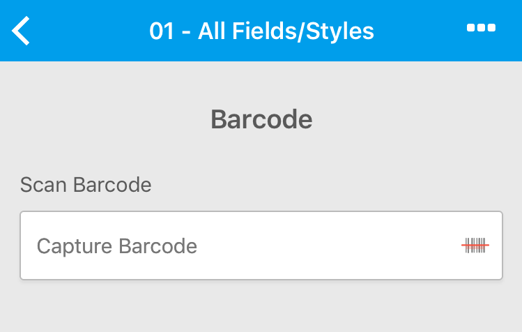 Barcode scanning with Canvas