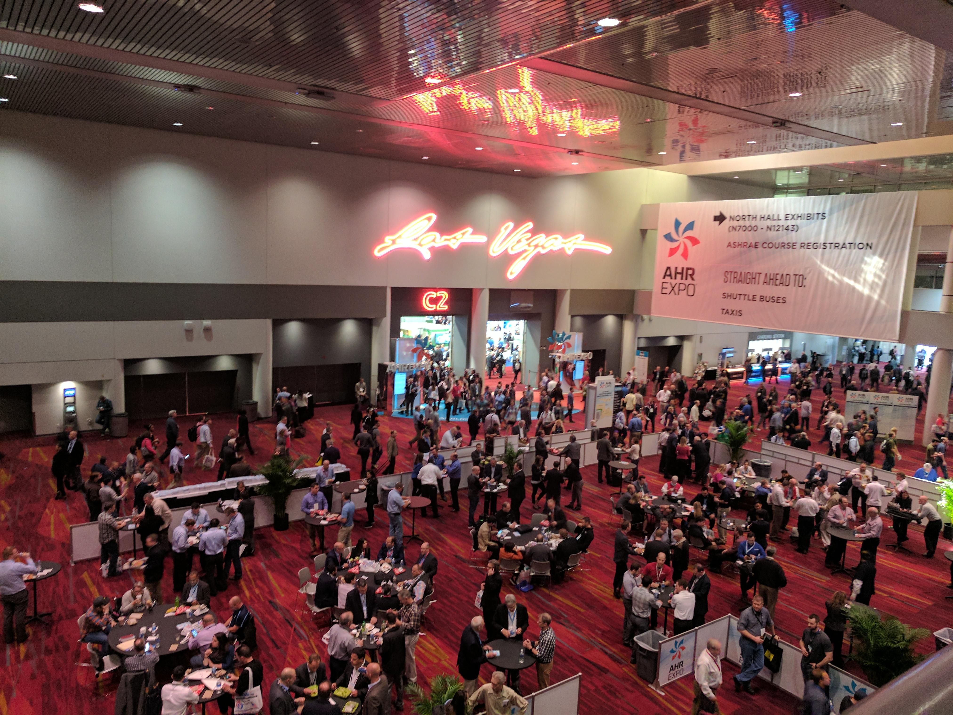 HVAC Professionals at AHR Expo