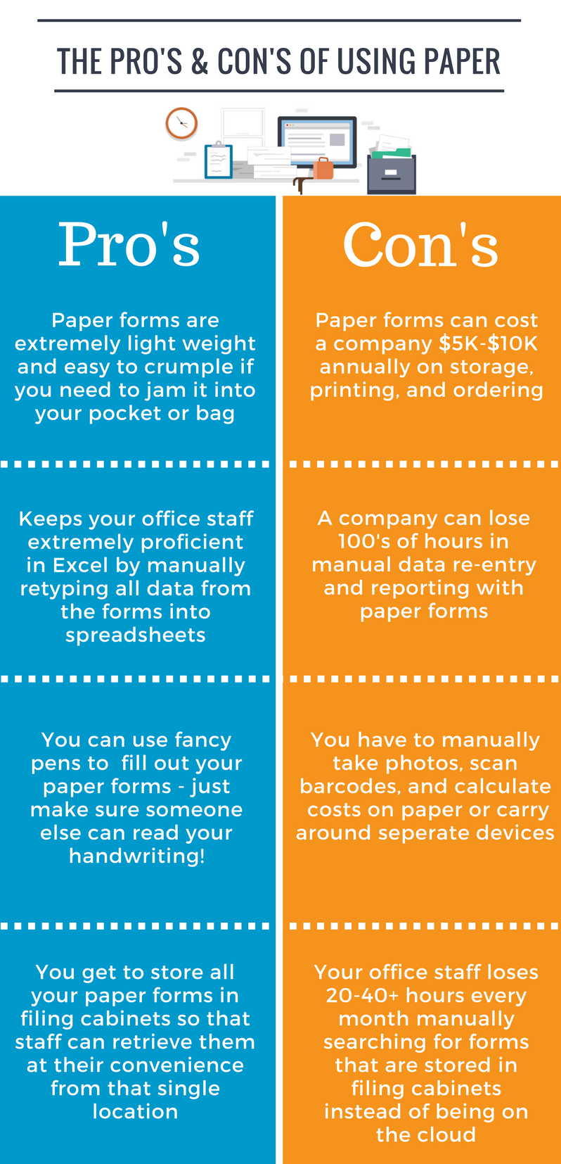 Pros and Cons of Using Paper