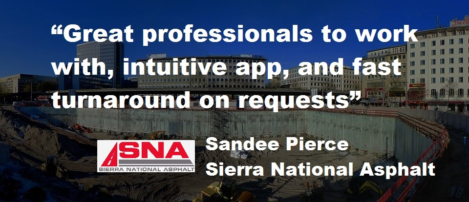 Check out the case study of National Sierra Asphalt