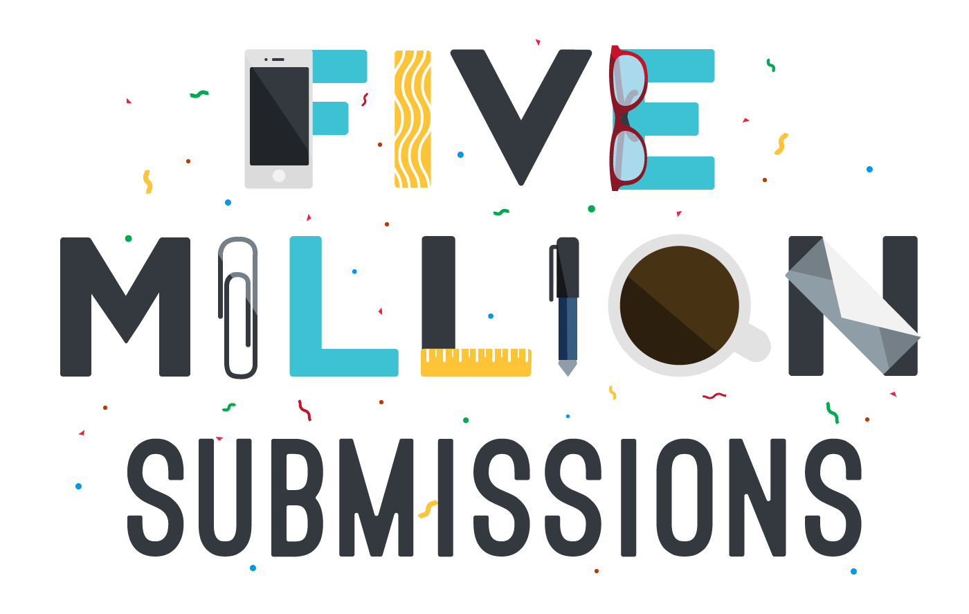 5 million submissions for Canvas