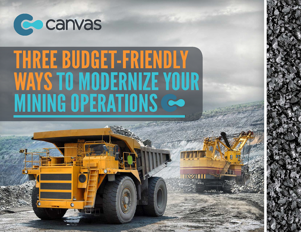 3 Budget-Friendly Ways to Modernize Your Mine Operation.