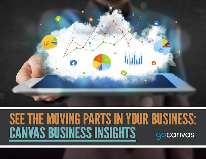 See Moving Parts in Your Business: GoCanvas Business Insights