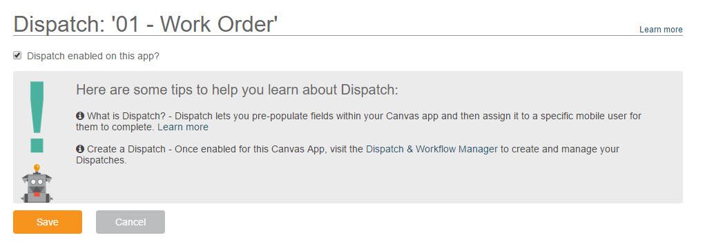 Dispatch - Step 3