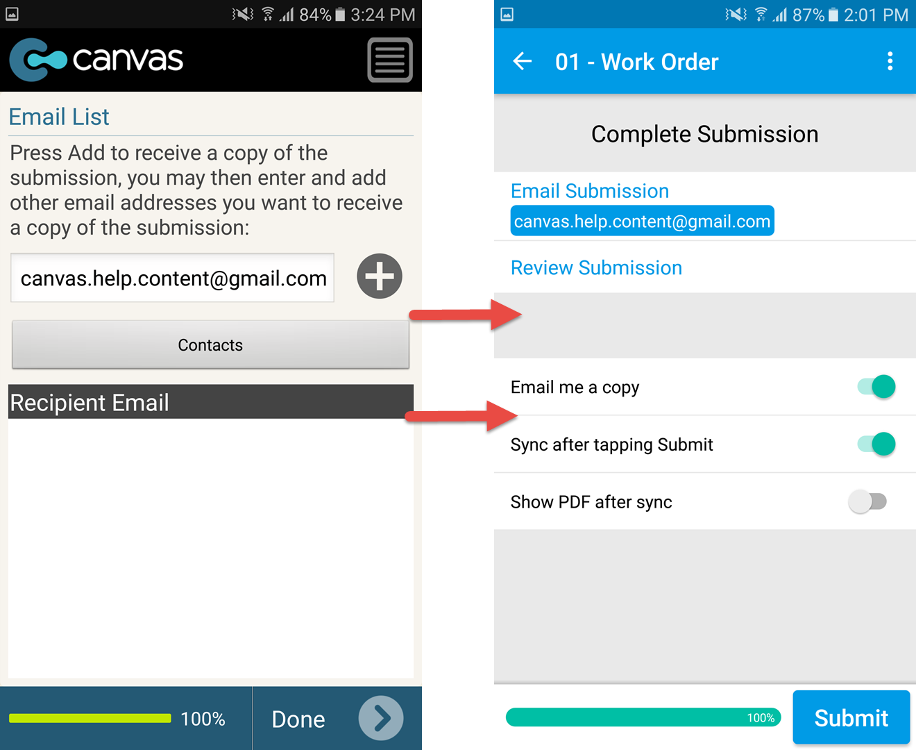 Release Notes: Introducing our NEW Android App – GoCanvas