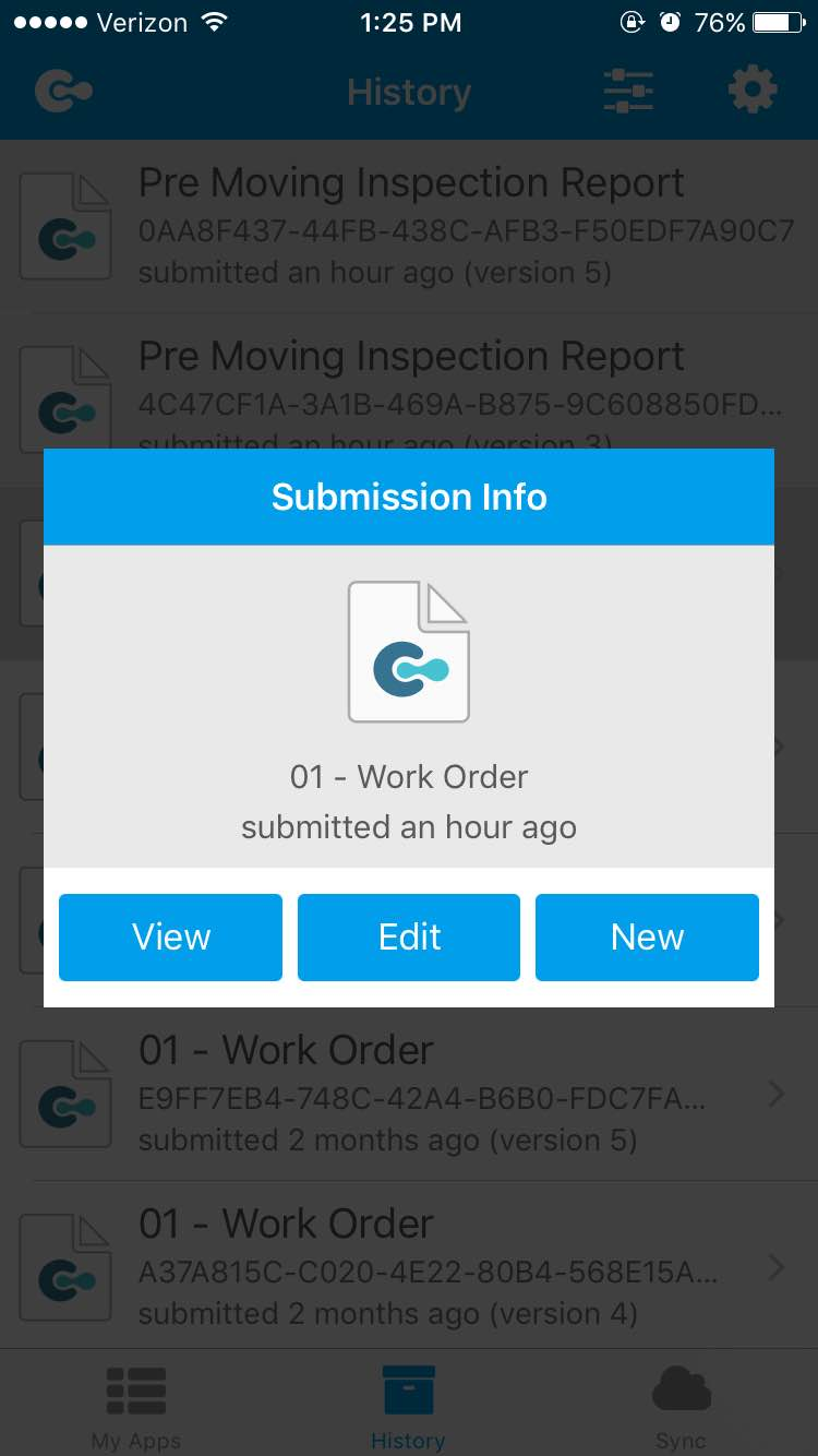 Able To Edit Submissions Made To The Current Version Of The App If Mobile  Editing Is