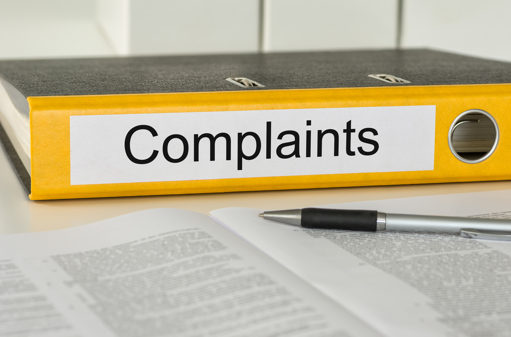 notebook of complaints