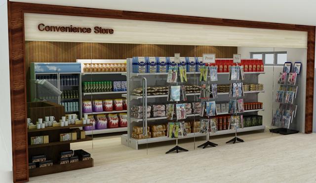 Premier convenience store chain replaces paper with for Mobili convenienti