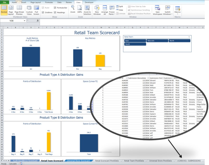 excel integration for real time data. Save hundreds of hours going paperless with a mobile app