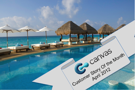 Mobile App for Resort - Canvas