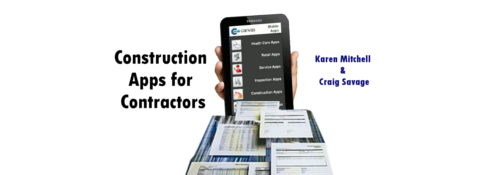 Construction Forms for Contractors Mobile Apps with Canvas