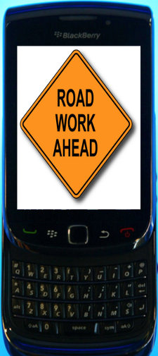 Road Construction Crews Use Blackberry