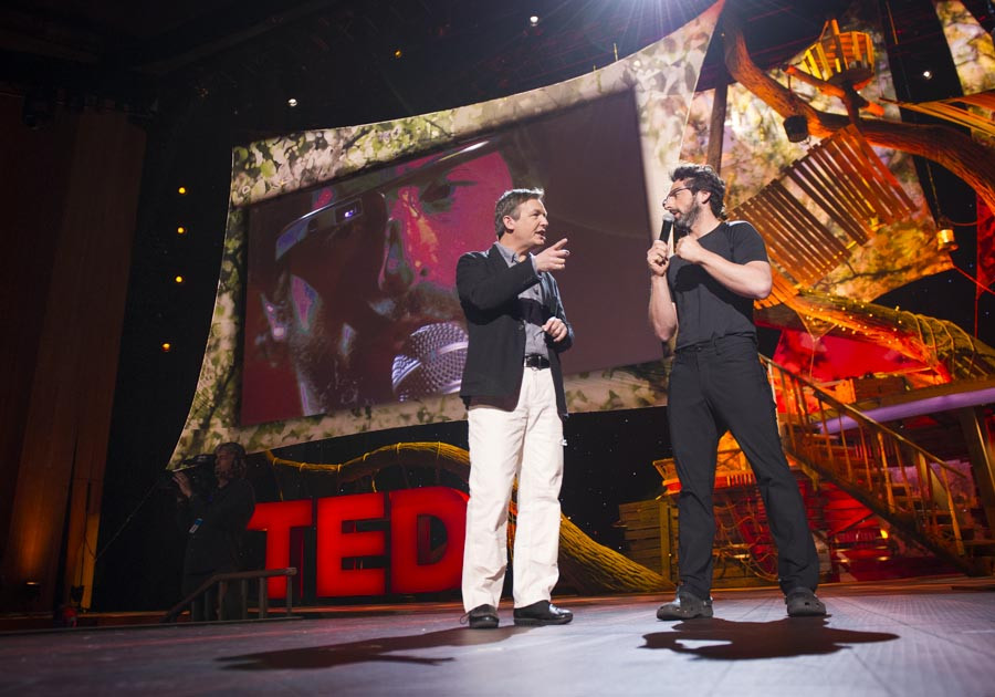 Sergey Brin at TED  -- Photo: James Duncan Davidson