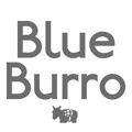 blue burro logo