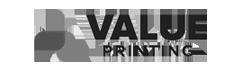 value printing logo
