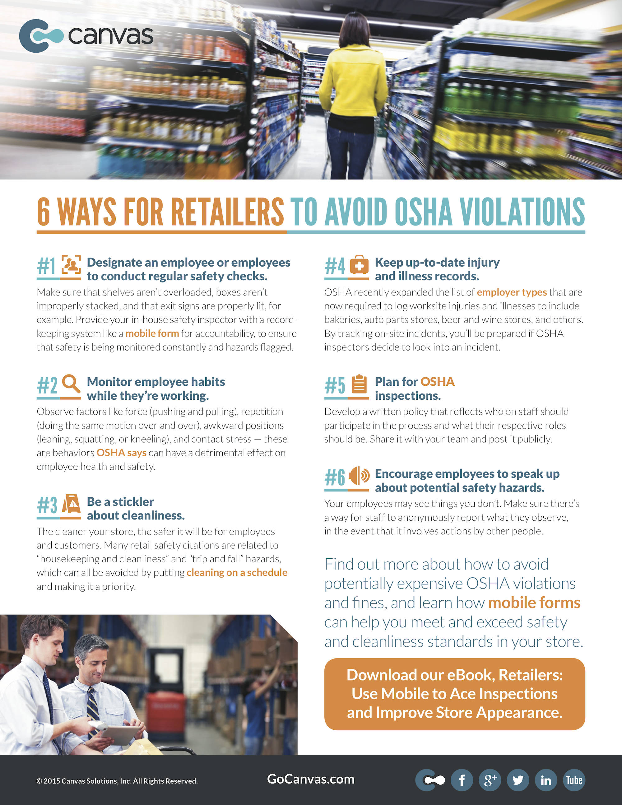 6 Ways for Retailers to Avoid OSHA Violations