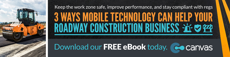 3 Ways Mobile Technology Can Help Your Roadway Construction Business