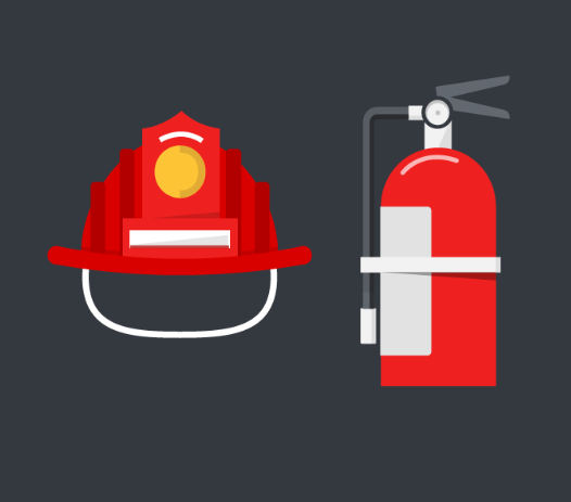 fire suppression checklist. fire hat. fire graphic design. fire fighter. fire extinguisher.