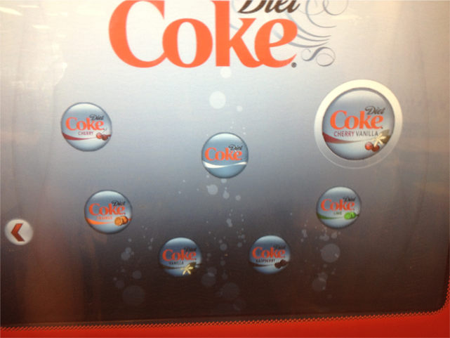 pininfarina Coke Machine