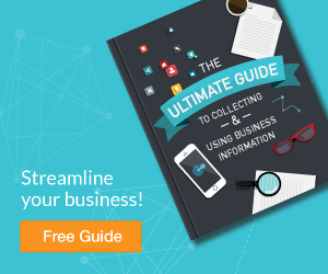 get our free guide to collecting and using business information