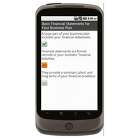 Android: Business Plan - Checklist.com Mobile App (Example 1)
