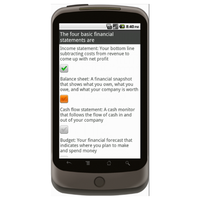 Android: Business Plan - Checklist.com Mobile App (Example 2)