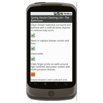 House Cleaning Checklist - Checklist.com Form Mobile App - iPhone ...