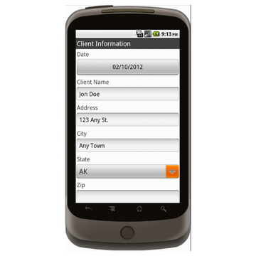 Change Order Log - Construction Forms for Contractors Form Mobile App ...