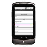 Android Device: Deluxe 2525 - Road Service Example 1