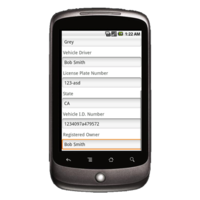 Android Device: Deluxe 2525 - Road Service Example 3