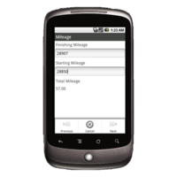 Android Device: Deluxe 2525 - Road Service Example 4