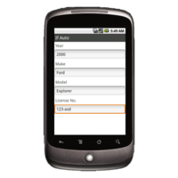 Android Device: Deluxe 248 - Locksmith Work Order Example 2