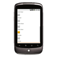 Android Device: Deluxe 248 - Locksmith Work Order Example 4