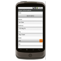Android: Project Closeout Checklist - Construction Forms for Contractors Mobile App (Example 1)