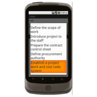 Android: Project Startup Checklist - Construction Forms for Contractors Mobile App (Example 2)