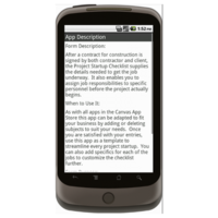 Android: Project Startup Checklist - Construction Forms for Contractors Mobile App (Example 4)