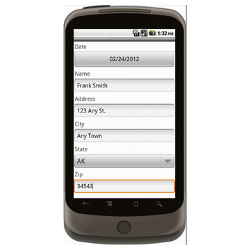 Android: Delay Notice - Construction Forms for Contractors Mobile App (Example 1)