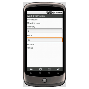 Work Order Form - SIMPLE Form Mobile App - iPhone, iPad, Android