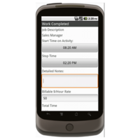 Android: Basic Time Card (Canada) Mobile App (Example 2)