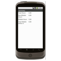 Android: Basic Time Card (Canada) Mobile App (Example 3)