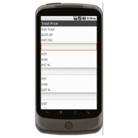 Android: Sales Order Form (Canada) Mobile App (Example 3)