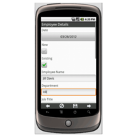 Android: Help Desk Service Request Mobile App (Example 1)