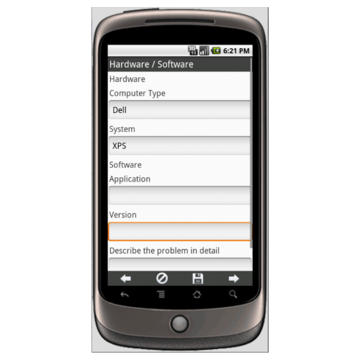 Android: Help Desk Service Request Mobile App (Example 2)