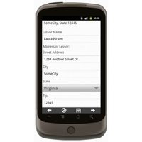 Android: Pumps Rental Agreement Mobile App (Example 3)