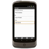 Android: Pumps Rental Agreement Mobile App (Example 4)