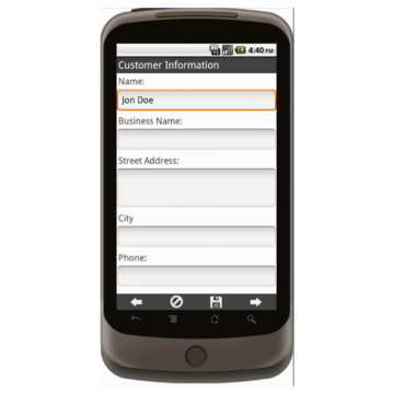 Android: Trail's End Order Form - Boy Scouts Mobile App (Example 1)