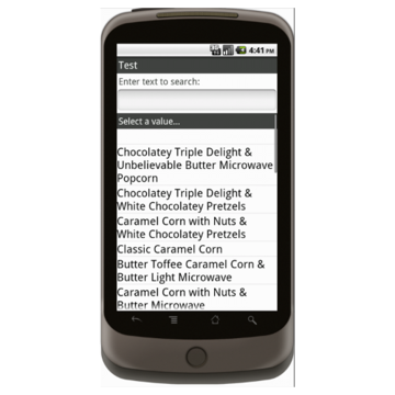 Android: Trail's End Order Form - Boy Scouts Mobile App (Example 2)